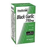 HealthAid Black Garlic 30 Vegicaps 750 mg