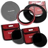 WonderPana 145 ND Kit - 145mm Filter Holder, Cap, ND16 & ND32 Filters for 14mm Full Frames (Samyang, Rokinon, Polaroid, etc.)
