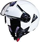 Studds Downtown SUS_DONOFH_WHEL Open Face Helmet (White, L)