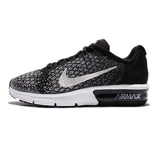 Zapatos Junior Air Max Sequent 2GS, negro - blanco, 5Y negro - blanco