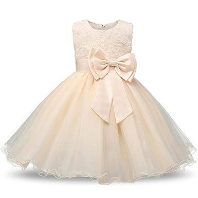 Vestido de Fiesta de Princesa de Flores HPPLGirl Vestido de ...