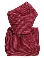 Elizabetta Men's Italian Designer Luxury Silk Grenadine Garza Fina Neck Tie