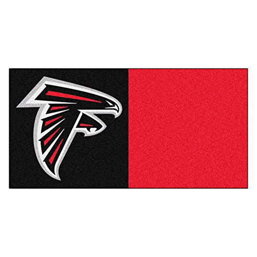 FANMATS NFL Atlanta Falcons Nylon Face Team Carpet ()