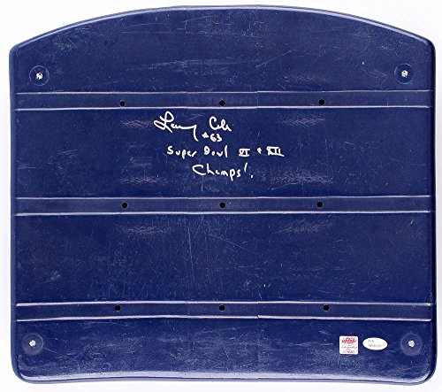 LARRY COLE SIGNED SUPER BOWL VI XII CHAMPS DALLAS COWBOYS GAME USED STADIUM SEAT ()