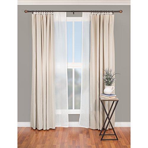 Beme international 1 decopolitan core marble ball double for International decor window treatments