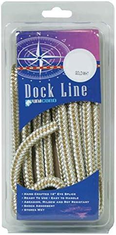 UNICORD 5407613 Braided Dock Line 15