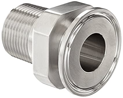 1 x 3//4 x 1.625 OAL 1 x 3//4 x 1.625 OAL Steel and Obrien AAW01060-304 Stainless Steel 22MP Adapter