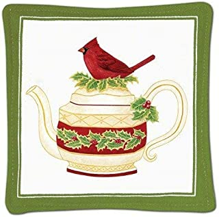 product image for Alice's Cottage Cardinal Teapot Single Mug Mat