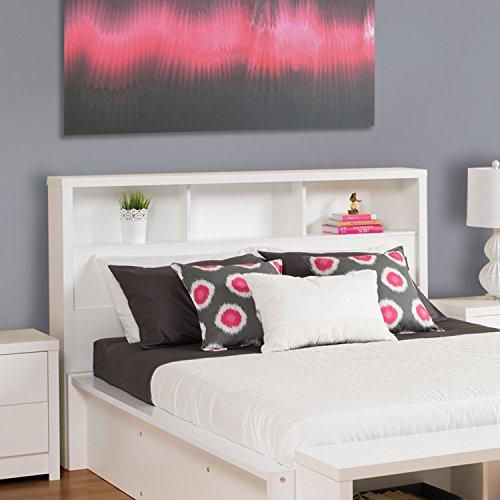 Headboards Double Beds (Prepac WHFQ-0500-1 Calla Double Headboard, Queen,)