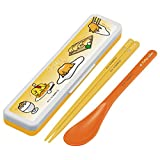 Gudetama chopsticks and spoon Case set Sanrio Made in Japan