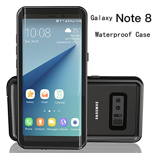 Galaxy Note 8 Waterproof Case,Underwater Cover Full Body Protective Shockproof Snowproof Dirtproof IP68 Certified Waterproof Case for Samsung Galaxy Note 8