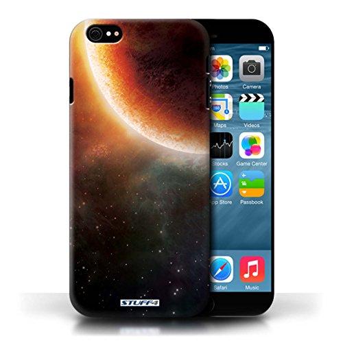 Kobalt® Imprimé Etui / Coque pour Apple iPhone 6/6S / Éclipse Orange conception / Série Cosmos