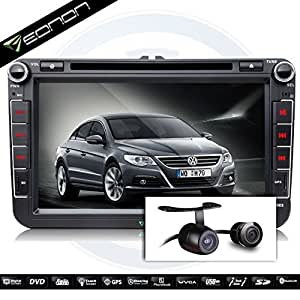 eonon d5153z updated interface with hd backup camera for vw 05 13 jetta passat. Black Bedroom Furniture Sets. Home Design Ideas