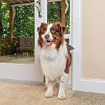 PetSafe 1-Piece Sliding Glass Door for Dogs and Cats – Fits 81 in to 96 in Patio Panel Sliding Glass Doors – Adjustable…