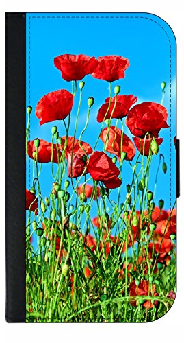 (Tulips Wallet Phone Case for The iPhone Xs Max - 10 XS Max iPhone Wallet Case - iPhone Xs Max Wallet Case)