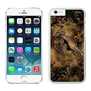 NFL Denver Broncos iphone 6 Cases White 4.7 inchescell phone cases Gift Holiday Christmas GiftsTLWK934824