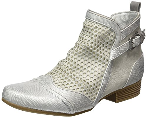 Mustang 1176-506-21, Bottes Classiques Femme, Silber (21 Silber) Argent (21 Silber)