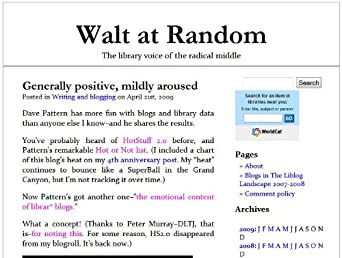 Walt at Random