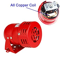 BAYM AC 110V Horn 120dB MS-190 Industrial Motor Alarm Bell Siren Horn Sound Buzzer Alarm