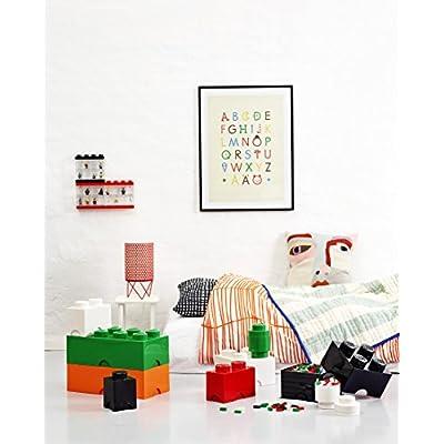 LEGO Storage Brick 2, Red: Room Copenhagen: Home & Kitchen