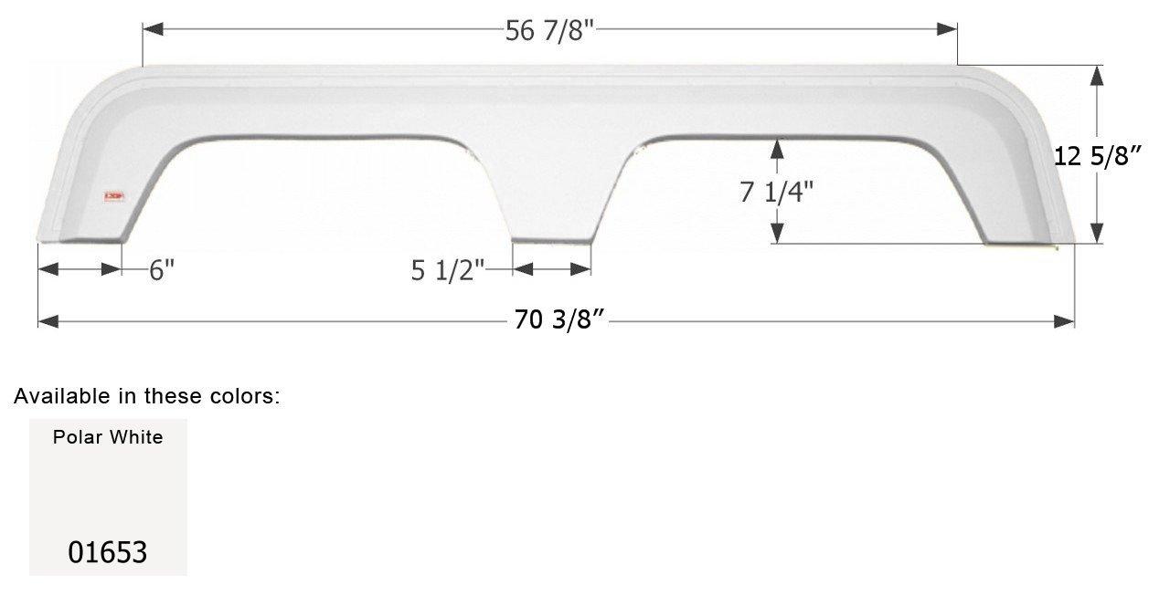 ICON 01653 Fender Skirt