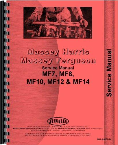 Massey Ferguson 10 12 14 7 8 Lawn & Garden Tractor Service Manual