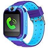 Kids Smart Watch Kid Phone Watch with Games Kids Calling Watch 1.54 inch HD Color Touch Screen with Digital Camera MP3 Music Player Holiday Birthday Gift for Girls Boys 2019 New Version. (blue)