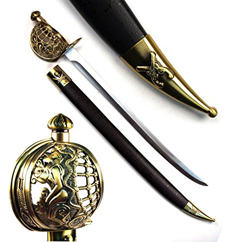 Ace Martial Arts Supply Deep Blue Sea Pirate Cutlass Sword