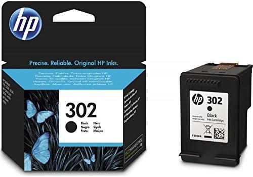 Cartucho HP 302 Negro Original Para HP 3830 3832 4650 1110 2130 3630 F6U66AE 4520 capacidad de 190 páginas.: Amazon.es: Electrónica