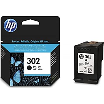Cartucho HP 302 Negro Original Para HP 3830 3832 4650 1110 ...
