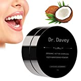 #8: Dr.Davey Natural Active Charcoal Teeth Whitening Powder-Organic Activated Carbon Coco Tooth Whitener and Stain Remover for Teeth