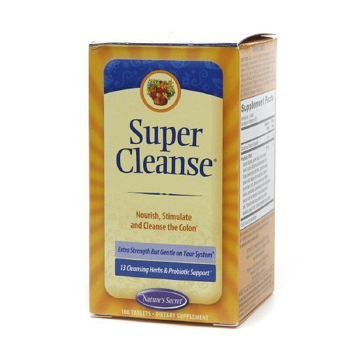 Nature's Secret Super Cleanse - 100 tab, 6 pack by NATURE...