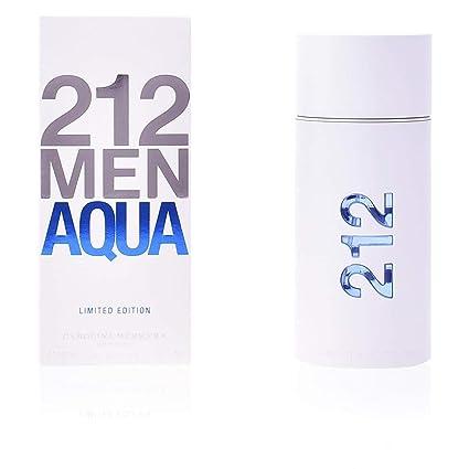 48693d1cd7 Carolina Herrera 212 Men Aqua Agua de Tocador Vaporizador - 100 ml ...