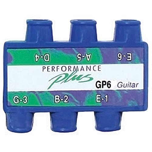 Performance Plus Standard 6 String A440 Tuned Guitar Pitch Pipe With With Clear Carrying Pouch (GP6)