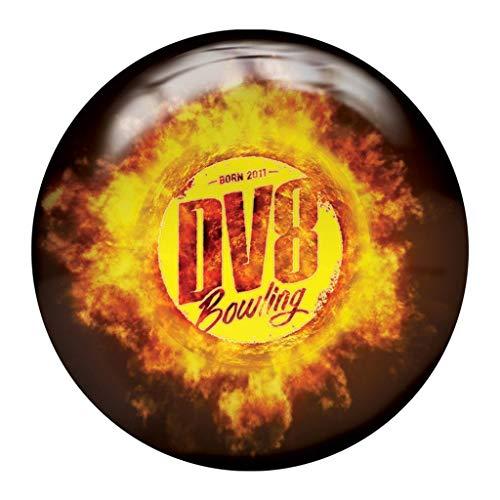 DV8 Scorcher PRE-DRILLED Viz-A-Ball Bowling Ball 15lbs (Best Dv8 Bowling Ball)