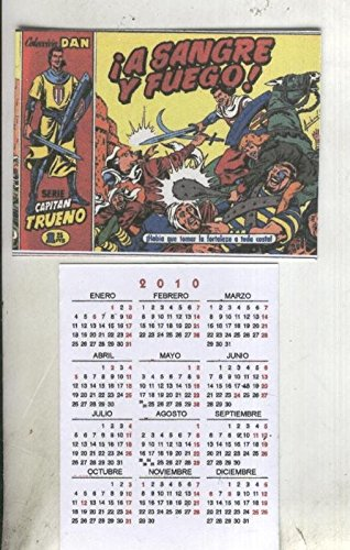 Calendario Serie A 17 18.Calendario Bolsillo 2010 El Capitan Trueno Portada Numero