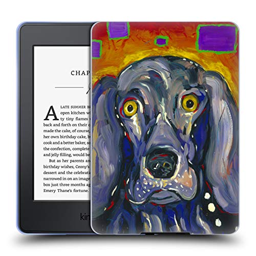 - Official Mad Dog Art Gallery Winston Dogs Soft Gel Case for Amazon Kindle Paperwhite 3