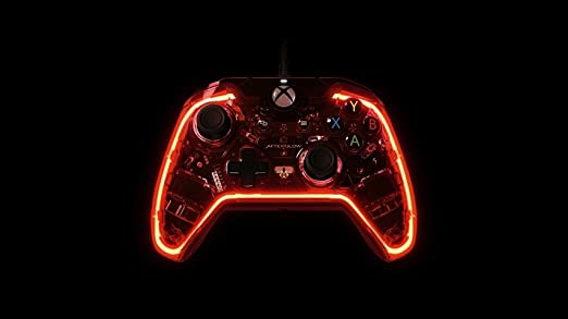 Amazon Com Pdp Afterglow Prismatic Wired Controller For Xbox One Xbox One Video Games