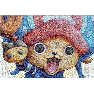 Tzteed Wooden Jigsaw Puzzle, One Piece: Tony Tony Chopper Jigsaw, Educational Toys, Adult Decompression Toys, Parent-Child Toys, Children's Day Gifts, 1000 Pieces: Toys & Games