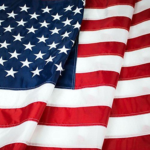 American Flag: Top Quality 4x6 Ft 330D Nylon US Flag Heavy-U