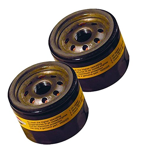 Briggs & Stratton 5049K (2 Pack) Replacement Oil Filter # 492932B-2pk