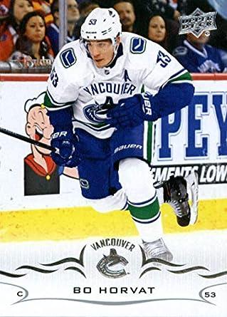2018-19 Upper Deck  425 Bo Horvat NM-MT Vancouver Canucks Official NHL c1d3d6919
