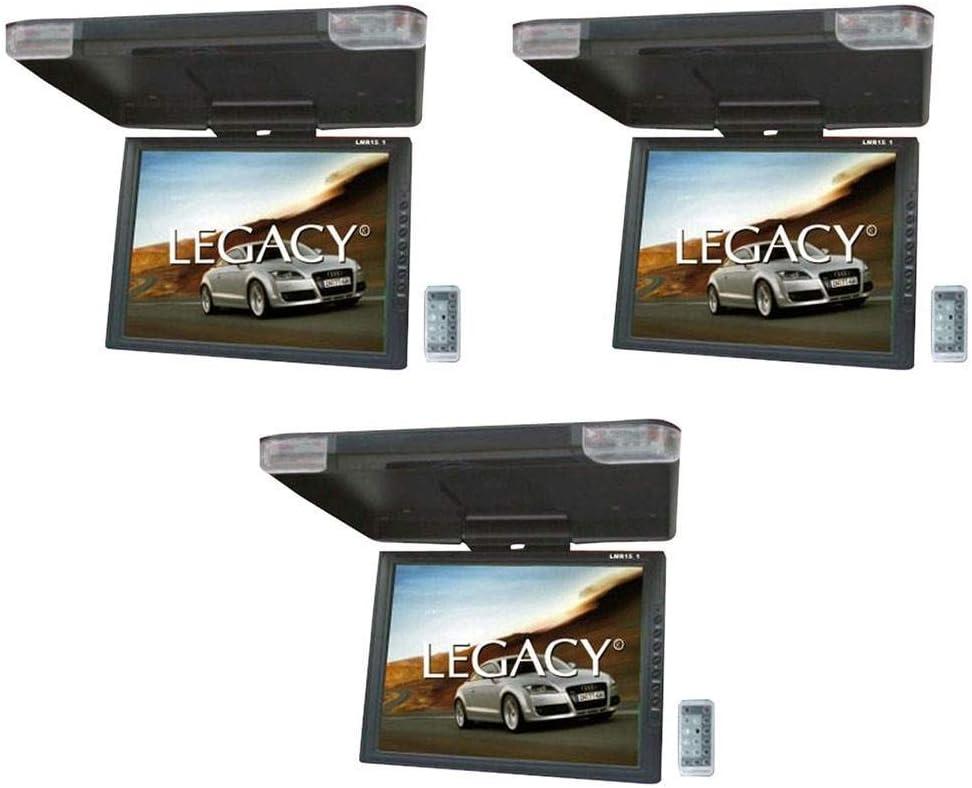 传统的15英寸液晶TFT汽车翻顶安装显示器