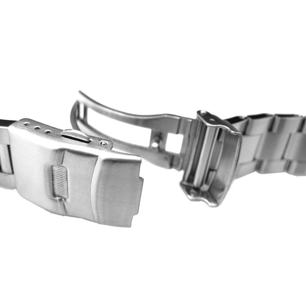 22mm Super Oyster Type II watch bracelet common use for diver watch, straight end by 22mm Metal Band by MiLTAT (Image #2)
