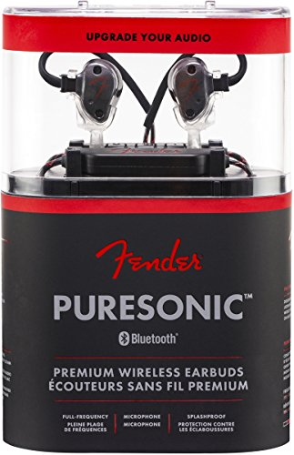 Fender PureSonic Premium Audiophile Wireless Earbuds - In-Ear Headphones by Fender