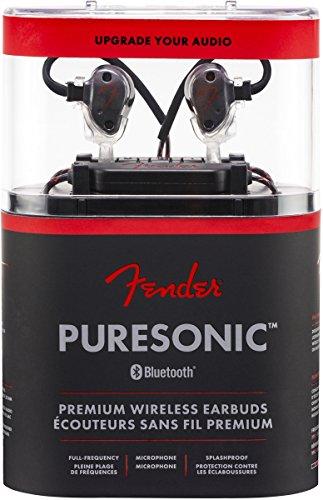 Fender PureSonic Premium Audiophile Wireless Earbuds - In-Ear Headphones by Fender