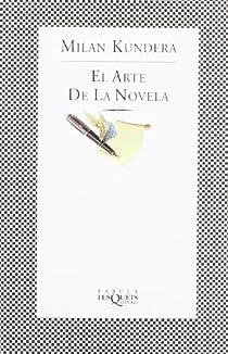 El arte de la novela par Kundera