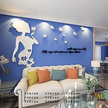 3d Wand Acryl Stereo Wohnzimmer Fernseher Sofa Hintergrund Zimmer