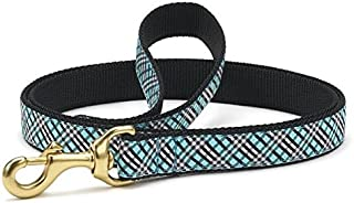 product image for Up Country Aqua Plaid Dog Leash