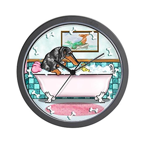 CafePress - Dapple Dachshund Wall Clock - Unique Decorative 10